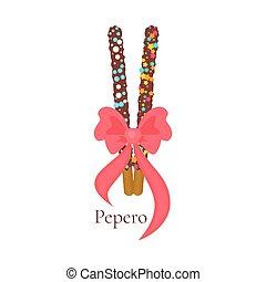 Happy Pepero Day card