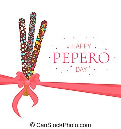 Happy Pepero Day poster