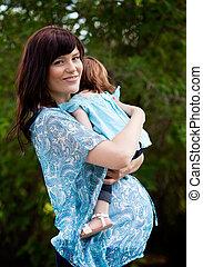 Happy Pregnant Mother