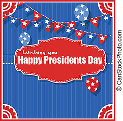 Happy Presidents Day Background