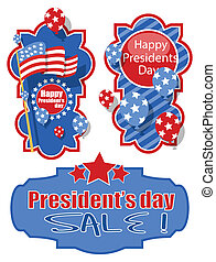 Happy Presidents Day Banners