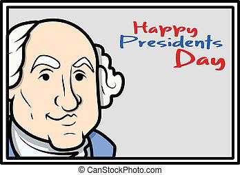 Happy Presidents Day - Cartoon - Happy Presidents Day -...