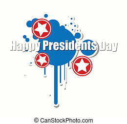 Happy Presidents Day Graphic Vector