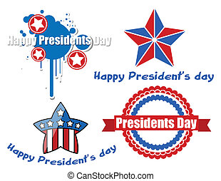 Happy Presidents Day Vector Design