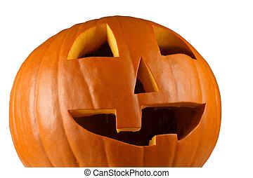 Happy pumpkin for halloween