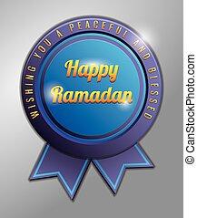 Happy Ramadhan badge