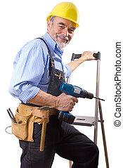 happy repairman