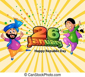 Happy Republic Day of India - 26 january it's a indian...