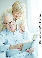 Happy retirement - Portrait of a candid senior couple...