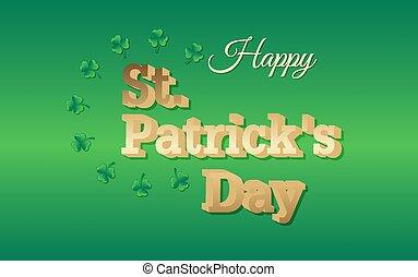 Happy Saint Patricks Day background