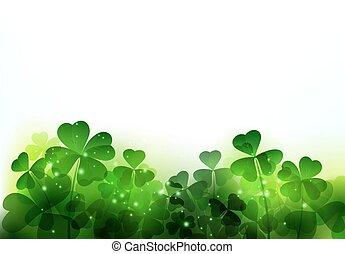 Happy Saint Patricks Day Background. - Vector Happy Saint...