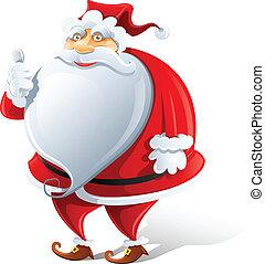 happy Santa Claus show OK