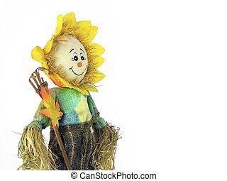 Happy Scare Crow Puppet