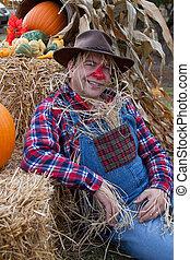 happy scarecrow