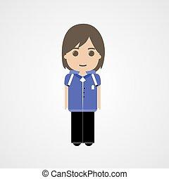 Happy Schoolboy Character, Vector, Illustration, Eps File