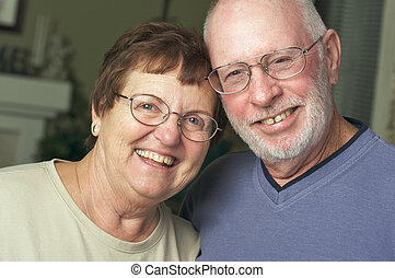 Happy Senior Adult Couple