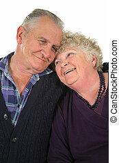 Happy Senior Couple 2 - Happy senior couple enjoying time ...