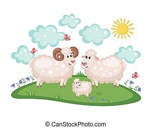 Mouton Clipart Vector And Illustration 3 Mouton Clip Art