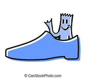 Happy shoe
