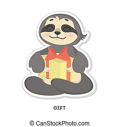 Sloth Vector Clipart Illustrations. 675 Sloth clip art ...