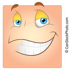 Happy Smile Box Face
