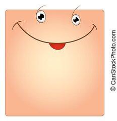 Happy Smile Face Box