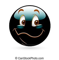 Happy Smiley Cartoon Vector