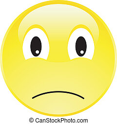 Happy Smiley Face Button