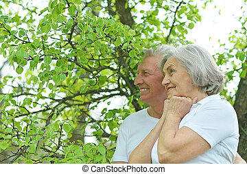 couple at nature