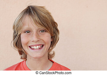happy smiling kids face