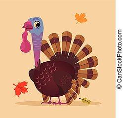 Happy Thanksgiving Turkey Face Funny Happy Turkey Bird Happy