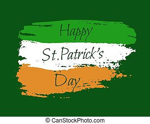 Happy St. Patrick background