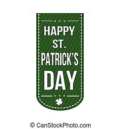 Happy St. Patrick's Day banner design