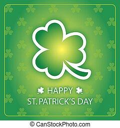 Happy St. Patrick's Day card 1