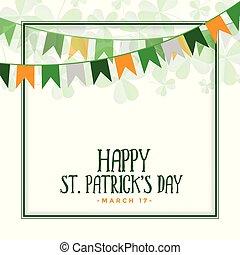 happy st patricks day celebration background