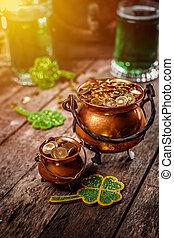 Happy St Patrick's Day concept