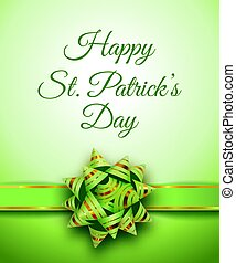 Happy St. Patrick's Day holiday banner
