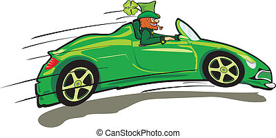 happy st. patrick`s day - leprechau