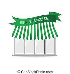 Happy St. Patrick's day shop icon