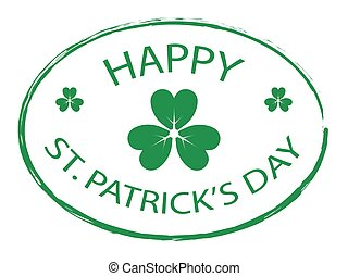 Happy St. Patrick's Day stamp 1