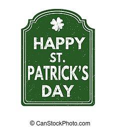 Happy St. Patrick's Day stamp