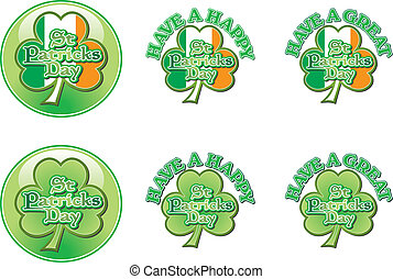 Happy St Pats Day Vector Graphics