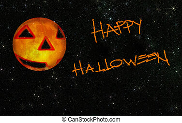 happy starry halloween