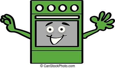 Happy Stove - Happy Appliances - Stove