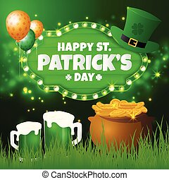 St.Patrick's Day Greeting Card