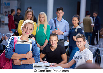 students group  study