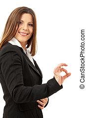 happy successful businesswoman #2