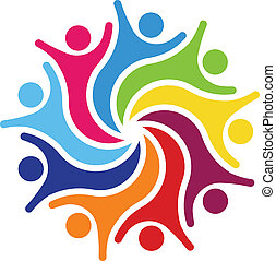 Happy Team 9 Logo vector - Happy Team 9