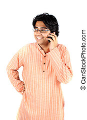 Happy Teen on Phone