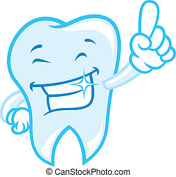 happy teeth cartoon